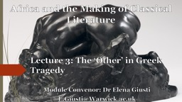 Africa and the Making of Classical Literature