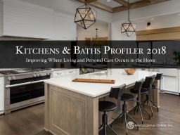 According to the latest research from the National Kitchen & Bath Association, more than 10% of
