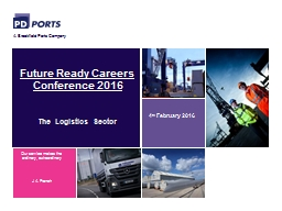 Future Ready Careers Conference 2016