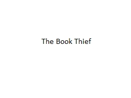 The Book Thief Death and Chocolate � pg. 3