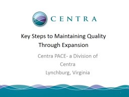 Key Steps to Maintaining Quality Through Expansion