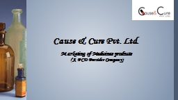 Marketing of Medicines products