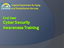 End User  Cyber Security