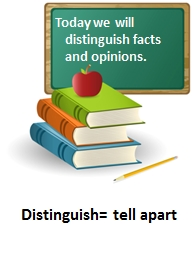 Today  we will  distinguish facts PowerPoint PPT Presentation