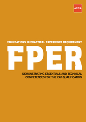 Foundation in practical experience requirement