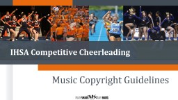 IHSA Competitive Cheerleading