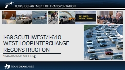 I-69 Southwest/I-610 West Loop Interchange
