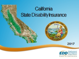 California  State  Disability