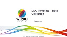 DDO Template  Data  Collection