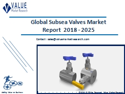 Subsea Valves Market Size, Share & Industry Forecast Research Report, 2025