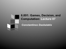 Computational Complexity in