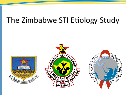 The Zimbabwe STI Etiology Study