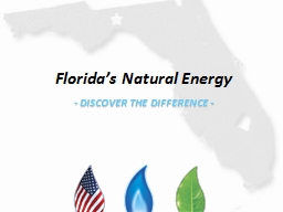 Florida�s Natural Energy