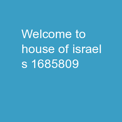 Welcome to House of Israel�s