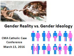Gender Reality vs. Gender Ideology