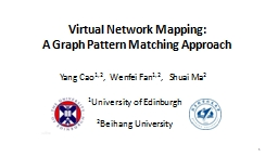 Virtual Network Mapping: