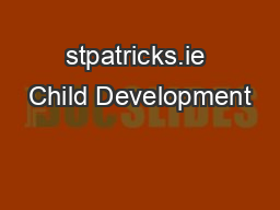 stpatricks.ie Child Development