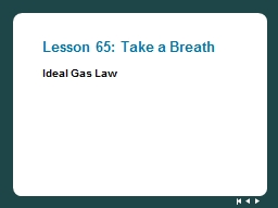 Lesson 65: Take a Breath