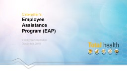 Employee Orientation December 2018 PowerPoint PPT Presentation