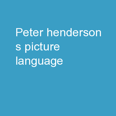 Peter Henderson's Picture Language