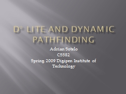 D* Lite and Dynamic pathfinding