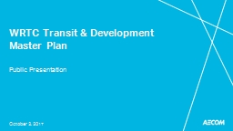 WRTC Transit & Development Master Plan