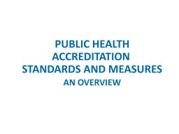 Principles of  Standards and Measures