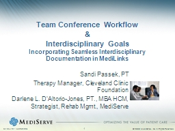 Team Conference Workflow