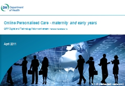 April 2011 Online  Personalised PowerPoint PPT Presentation