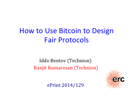 How to Use  Bitcoin  to Design