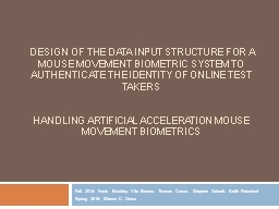 Design of the Data Input Structure for a Mouse PowerPoint Presentation, PPT - DocSlides