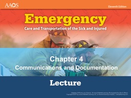 Chapter 4 Communications and Documentation