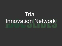 Trial Innovation Network