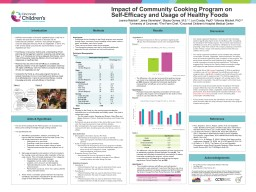 Acknowledgements The CCHMC Summer Undergraduate Research Fellowship