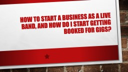HOW  to start a business as a