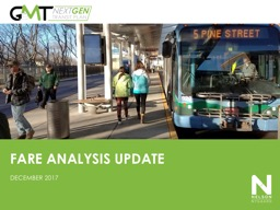 FARE  ANALYSIS UPDATE DECEMBER