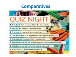 Comparatives   Keys  Geographical