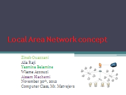 Local Area Network concept
