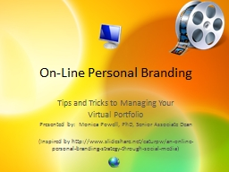 On-Line Personal Branding