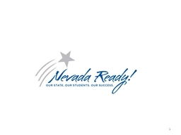 Nevada Ready 1 Federal Funding Work Group
