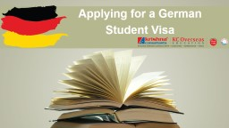 Germany study visa requirements PowerPoint PPT Presentation