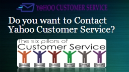 Contact Yahoo Customer Service Number for Help