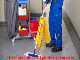 The importance of janitorial services