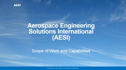 Aerospace Engineering Solutions International