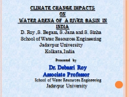 Presented   by    Dr .  Debasri