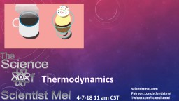 Thermodynamics Scientistmel.com