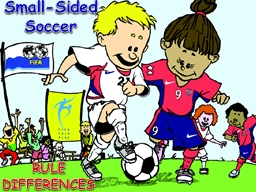 Small-Sided Soccer RULE DIFFERENCES
