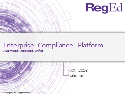 Enterprise Compliance Platform