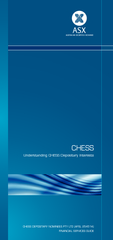 CHESS Understanding CHESS Depositary Interests CHESS D