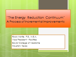 """The Energy Reduction Continuum"""